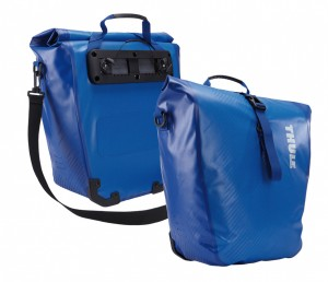 Alforja-Thule-Pack-n-Pedal Shield Panniers L Azul Snail Touring 01