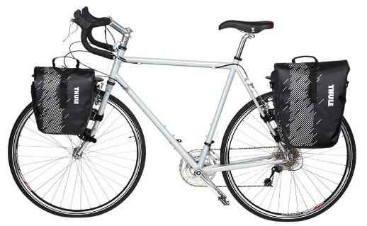 Alforjas para bicicleta Thule pequeñas y grandes