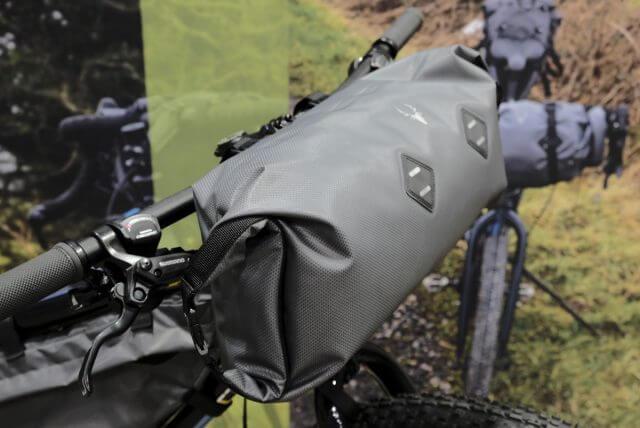 Bolsa de manillar de bikepacking