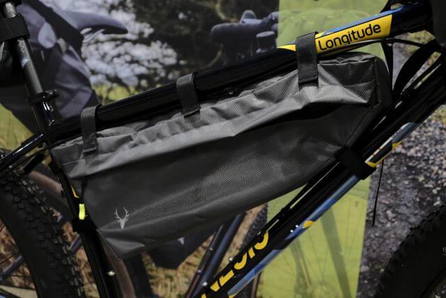 Framebag o bolsa de cuadro de bikepacking