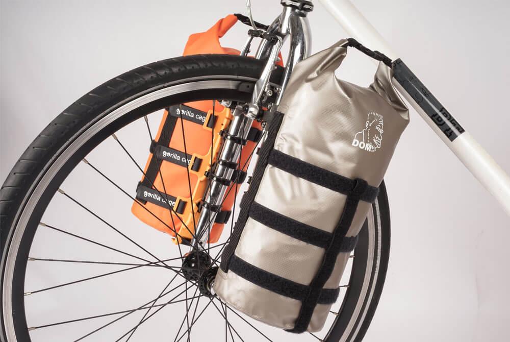 Bolsas de horquilla de bikepacking