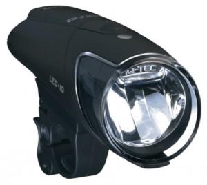 Faro LED Busch & Müller Ixon IQ pilas recargables Snail Touring 01